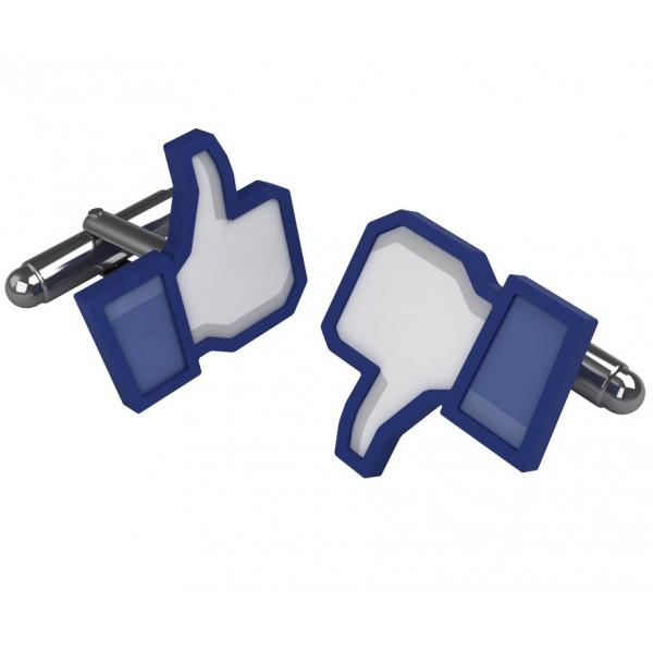 boutons de manchette design facebook