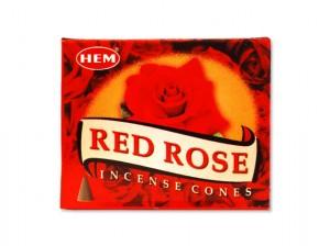 cones d'encens à la rose pour parfumer son intérieur, de hem