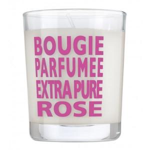 bougie parfumée à la rose de parfums de provence pour une maison parfumée