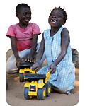 offrez un cadeau solidaire en participant à la construction d'une aire de jeux pour enfants de pays défavorisés