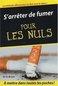 livre pour les nuls arrêter de fumer