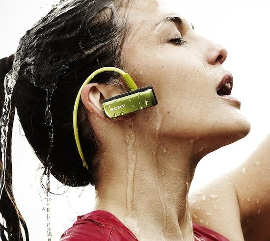 Baladeur MP3 étanche