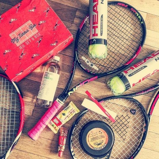 Box cadeau, cadeau tennis